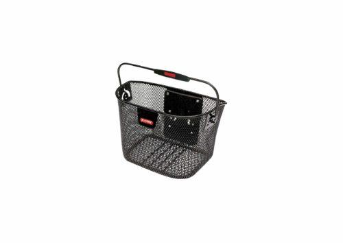 Klickfix Vorderradkorb schwarz Mini