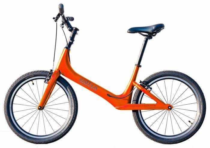 sollso laufrad orange